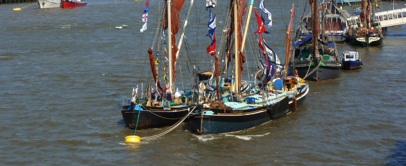 Jubilee Boats on River Thames (copyright HearingWellbeing 2012)